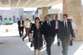 Sotoca visita junto al alcalde las obras de los nuevos colegios de Torre-Pacheco y Roldán