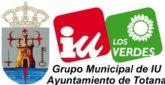 IU denuncia que el Ayuntamiento de Totana no paga la Seguridad Social de los funcionarios y trabajadores desde primero de año