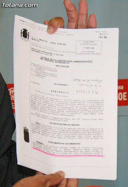 Mart�nez Usero: El TSJ declara nula la contrataci�n del equipo redactor del PGOM, Foto 2