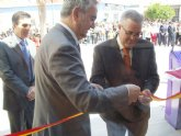 El delegado del Gobierno y el alcalde de Campos del Río inauguran el nuevo Ayuntamiento del municipio