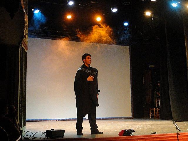 El IES Prado Mayor de Totana asiste a la muestra de teatro escolar en Caravaca, Foto 3