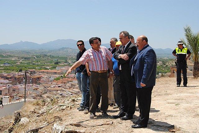 El Plan E invierte en la protección de taludes y construcciones de muros para la reducción de los riesgos de desprendimientos en las laderas del Castillo de Mula - 1, Foto 1