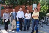 La Directora General de Transportes visita los cuatro nuevos puntos de