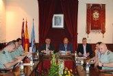 El delegado del Gobierno copreside la Junta Local de Seguridad en Mula