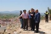 El Plan E invierte en la protección de taludes y construcciones de muros para la reducción de los riesgos de desprendimientos en las laderas del Castillo de Mula