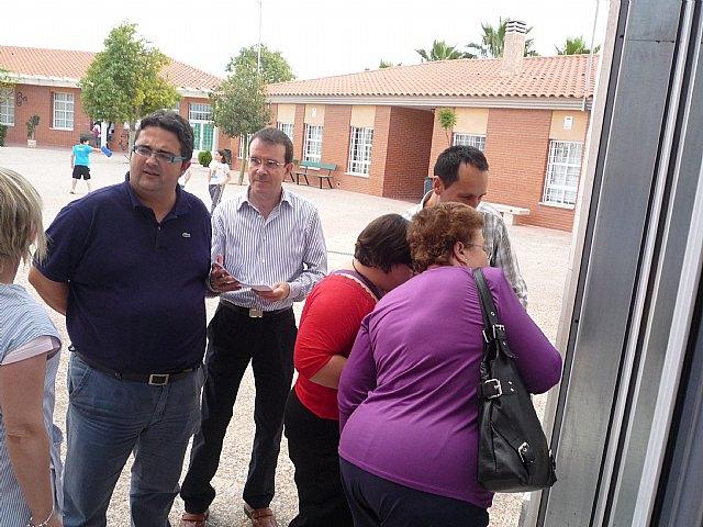 El concejal de Bienestar Social se re�ne con el Consejo Asesor del Centro Ocupacional Jos� Moy�, Foto 1