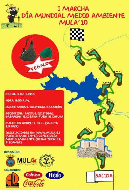 La I Marcha por el Día Mundial del Medio Ambiente recorrerá  el Castillo, el embalse de La Cierva y llegará  hasta Fuente Caputa - 1, Foto 1