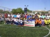 Los más pequeños triunfan en el II Torneo Biberón de fútbol
