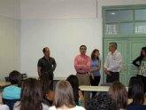 Universitarios de la Facultad de Educación Social, de visita en La Milagrosa