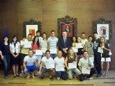 Clausura  del curso de monitor deportivo organizado por el ayuntamiento de La Unión
