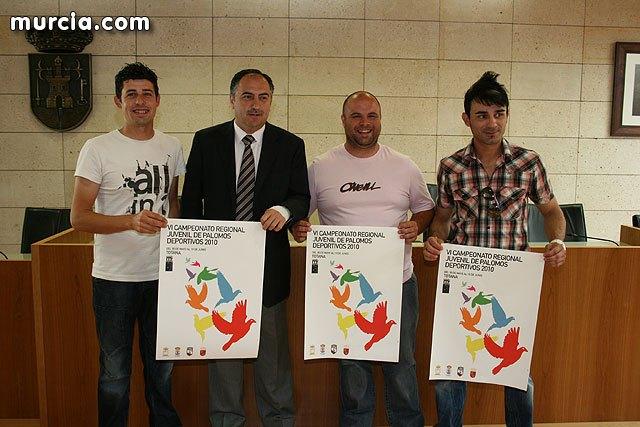 Totana acoger�  el VI campeonato regional juvenil de palomos deportivos 2010, que cuenta con un centenar de inscritos, Foto 1