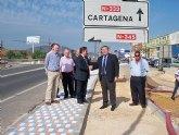 Inicio de las obras del tramo uno del bulevar La Unión-Cartagena