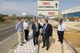 Los primeros tramos del carril bici entre La Unión y Cartagena estarán este verano