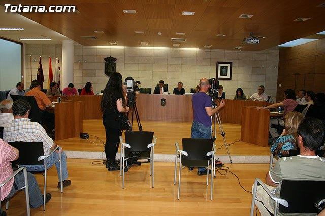 El Pleno aprueba el proyecto del Centro de Transportes y Aparcamiento del Guadalent�n, Foto 1