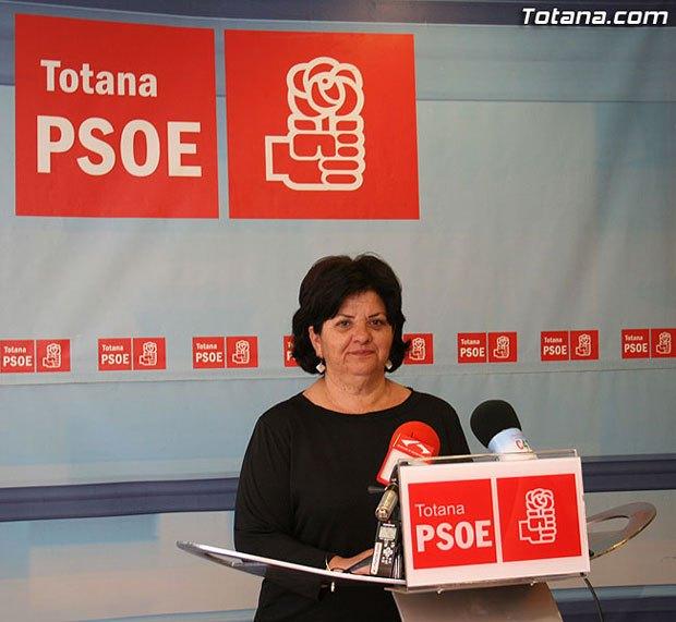 Rueda de prensa PSOE Totana. Pleno mayo, Foto 1