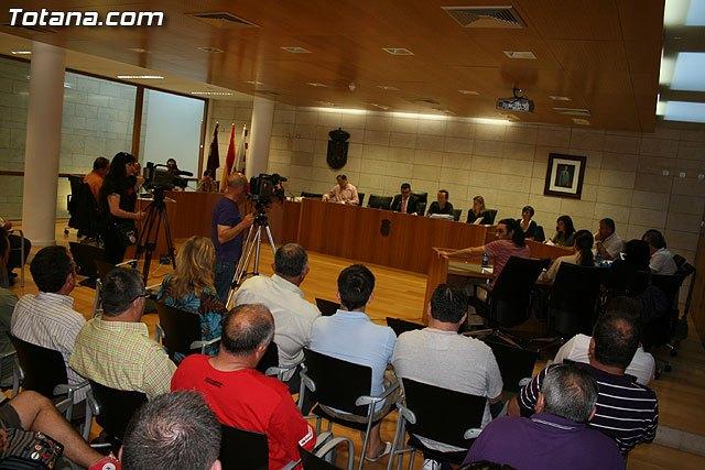 El Pleno aprueba la transformaci�n de MIFITO en la sociedad municipal del Centro Especial de Empleo Totana, Foto 1