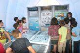 Más de 500 escolares visitan la Plaza de la Energía