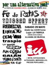 Fiesta de Izquierda Unida del Guadalent�n en Alhama el s�bado 29