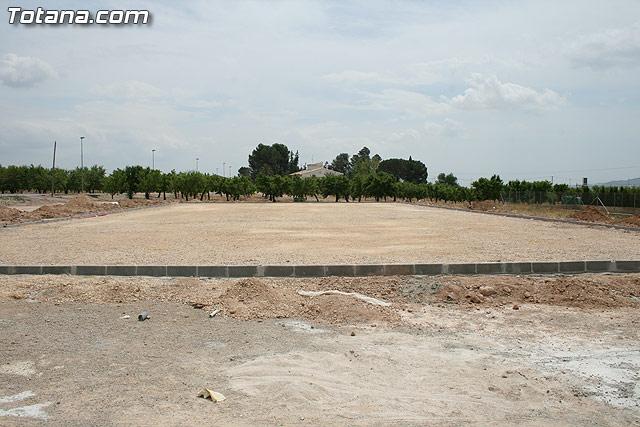 Los vecinos de la pedanía de Lébor dispondrán para este verano de la primera infraestructura deportiva - 1