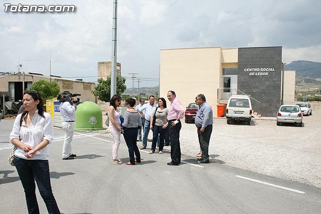Los vecinos de la pedanía de Lébor dispondrán para este verano de la primera infraestructura deportiva - 4