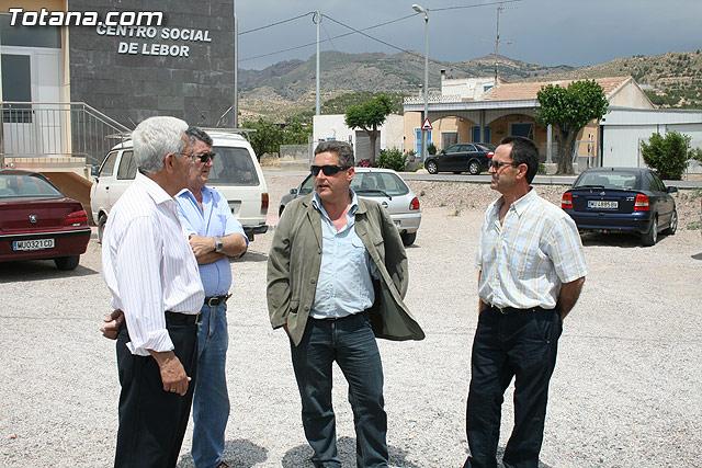 Los vecinos de la pedanía de Lébor dispondrán para este verano de la primera infraestructura deportiva - 6