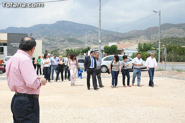 Los vecinos de la pedanía de Lébor dispondrán para este verano de la primera infraestructura deportiva - 9