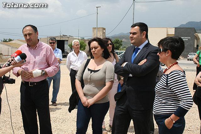 Los vecinos de la pedanía de Lébor dispondrán para este verano de la primera infraestructura deportiva - 18