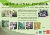 Un póster recoge el censo de fauna y flora de Altaona y Escalona creado por los voluntarios ambientales
