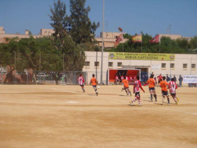 El Ranero, el Real Murcia y el Sevilla, ganadores del VIII Torneo Inter Escuelas Nueva Cartagena - 1, Foto 1