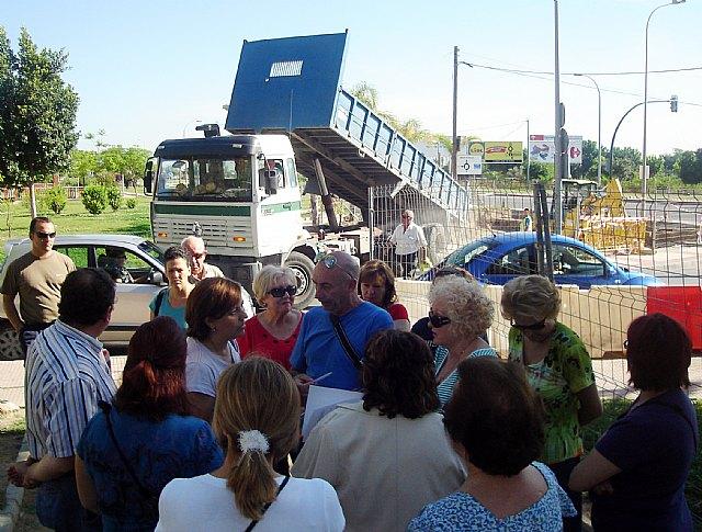 Alarcón exige a Cámara la paralización de las obras de la rotonda de la carretera de La Alberca- Avenida Primero de Mayo - 2, Foto 2