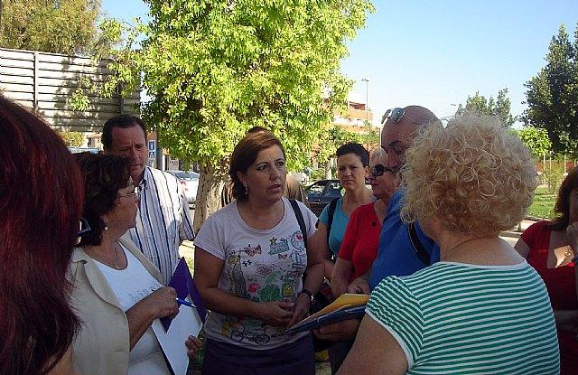 Alarcón exige a Cámara la paralización de las obras de la rotonda de la carretera de La Alberca- Avenida Primero de Mayo - 3, Foto 3