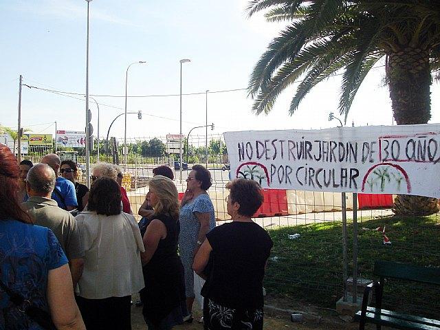 Alarcón exige a Cámara la paralización de las obras de la rotonda de la carretera de La Alberca- Avenida Primero de Mayo - 4, Foto 4