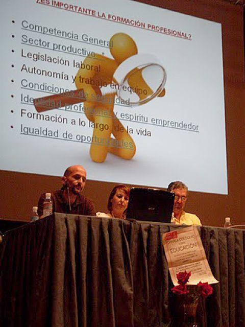 El PSOE denuncia la falta total de estudios de FP en Abanilla - 1, Foto 1