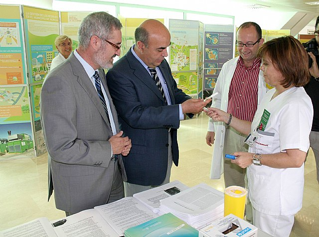 El director gerente del Servicio Murciano de Salud participa en la quinta Semana Verde - 1, Foto 1
