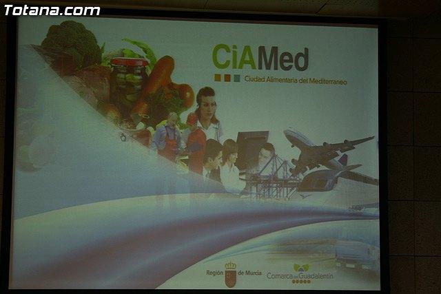 El proyecto de la Ciudad Alimentaria del Mediterr�neo, que abandera el ayuntamiento de Totana, ser� presentado mañana a nivel regional, Foto 1