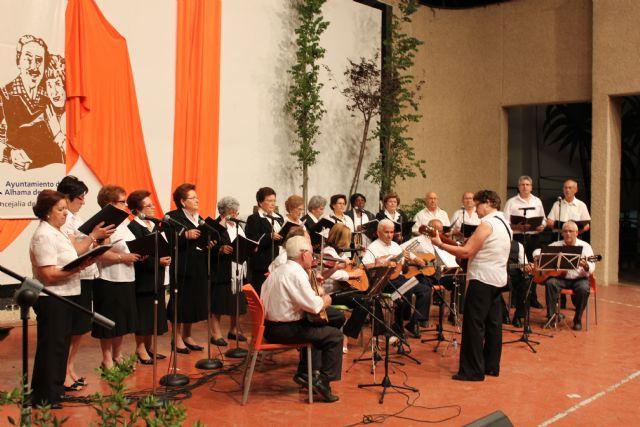 Finaliza la XX Semana de los Mayores con la actuación de Rondallas, Foto 2