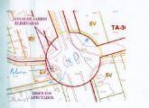 Alarcón exige a Cámara la paralización de las obras de la rotonda de la carretera de La Alberca- Avenida Primero de Mayo