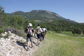 130 personas participaron durante el pasado fin de semana en las  rutas de senderismo del programa 'Lorca a Pie 2010'