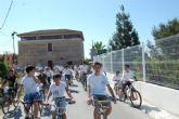 Más de 300 personas participan en la XIII Edición del BiciAlguazas