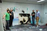 La Fundación Casa Pintada premia el talento de dos jóvenes artistas muleños