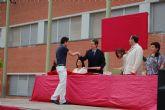 Imposición de becas en el IES Villa de Alguazas