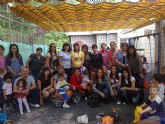 Las alumnas del curso de auxiliar de educaci�n infantil realizan una visita did�ctica a la Escuela Municipal Infantil Clara Campoamor