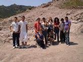 Los alumnos del Aula Ocupacional realizan una visita guiada al Yacimiento Arg�rico de La Bastida