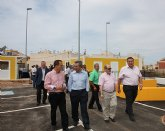 Cerdá entrega al Ayuntamiento de La Unión un ecoparque  para la recogida selectiva de residuos