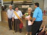 El Rey la Reina de los Servicios de Estancias Diurnas del Centro Municipal de Personas Mayores y del SEDA son coronados