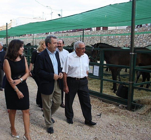 Inauguración de la Feria del Ganado en Fuente �lamo - 1, Foto 1