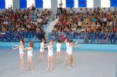 Las gimnastas torreñas dan lo mejor de sí en la clausura del curso de la Escuela Municipal