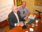 El poeta torreño Salvador Sandoval recibió el homenaje de los escritores murcianos
