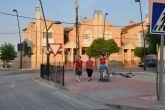 La Escuela Taller refuerza la seguridad del cruce Gran Vía-Avenida de La Paz con la instalación de barandillas en las aceras