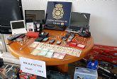 Por funcionarios de la Comisaría del Cuerpo Nacional de Policía de Molina de Segura, se ha procedido a la detención de tres individuos